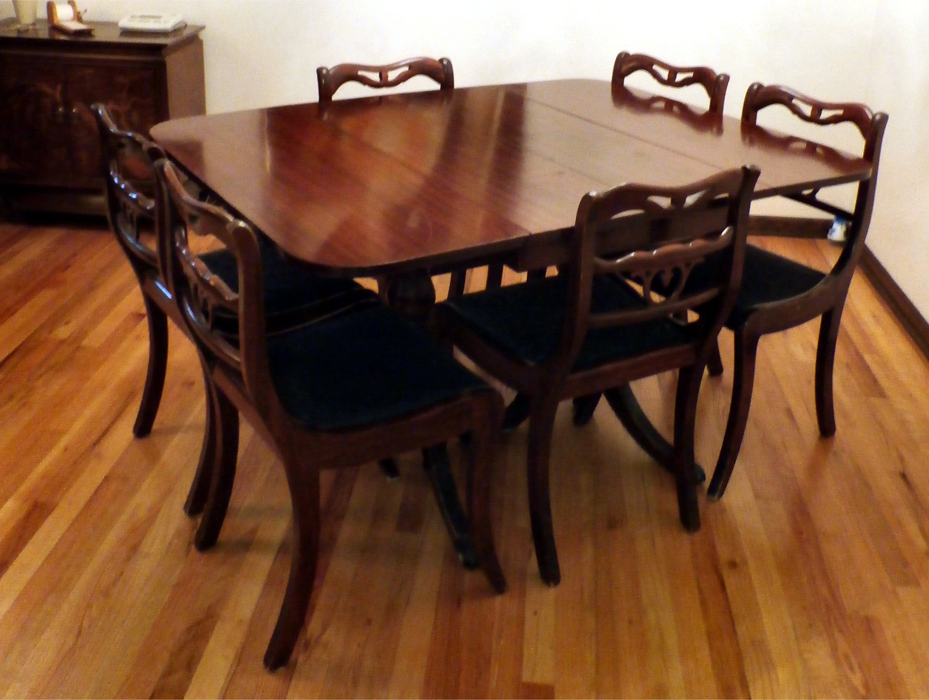 Original 1890 1916 Antique Brickwede Furniture Dining Room